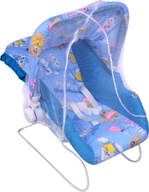 Ehomekart 11 in 1 Carry Cot Bouncer(Blue)