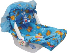 Ehomekart 7 in 1 Carry Cot Bouncer(Blue)