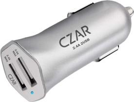 CZAR 4.8A Dual Port Turbo Car Charger