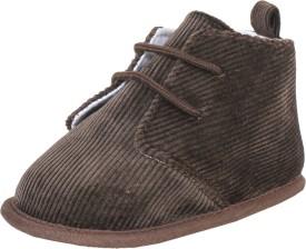 abdc kids Boys Lace Derby Shoes(Brown)