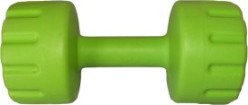 Royal 4Kg 1Pc PVC Dumbbell Green1 Fixed Weight Dumbbell(4 kg)