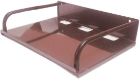 Gadget Deals Set Top Box,Router Stand Iron Wall Shelf(Number of Shelves - 1, Grey)