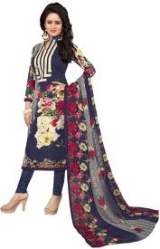 Regalia Ethnic Cotton Printed Suit Fabric(Un-stitched)