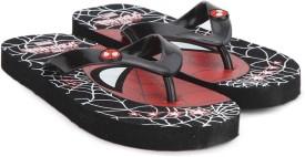 Disney Girls Slip On Slipper Flip Flop(Black)