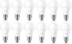 Philips Stellar Bright 7W E27 LED Bulbs (Pack..