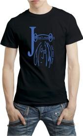 fUNKYcLOSET Graphic Print Men & Women Round Neck Black T-Shirt