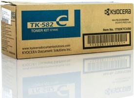 Kyocera TK-582 Cyan Toner Cartridge
