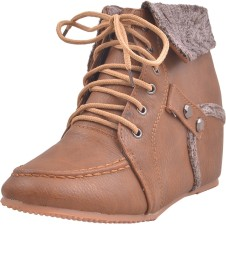 Adorn New Collection Boots(Beige)