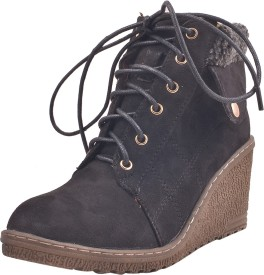 Adorn New Collection Boots(Black)