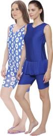 R-Lon Solid Women Swimsuit