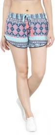 KOTTY Printed Women Multicolor Night Shorts