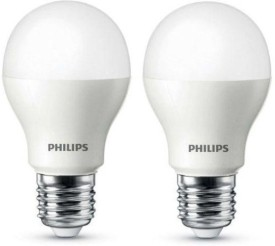 Philips E27 9W LED Bulb (Cool White, Pack..