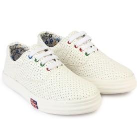 Do Bhai Sneakers(White)