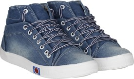 Kraasa Mayo Canvas Shoes, Casuals(Blue)