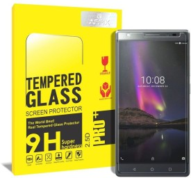 Affix Tempered Glass Guard for Lenovo Phab 2 Plus [6.4 Inch]
