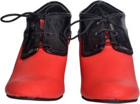 preksha dhabaria Boots(Red)