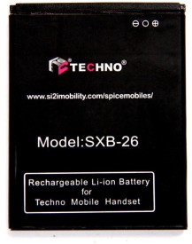techno SPICE SBX-26 1100mAh Battery