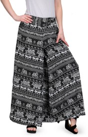 Stop Look Regular Fit Women's Black, White Trousers
