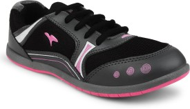 Fuel Women's Laced Up Solid Casuals(Black, Pink)
