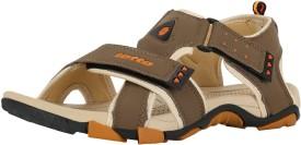 Lotto Men Brown Beige Sandals