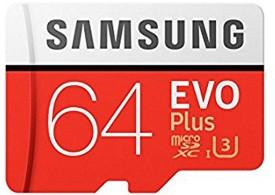 Samsung EVO Plus 64GB MicroSDXC Class 10..