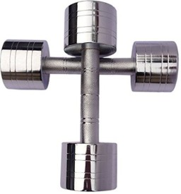Credence Weight Lifting 4KG Fixed Weight Dumbbell(4 kg)