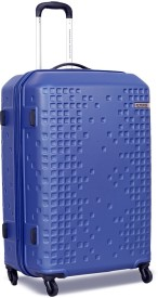 American Tourister Cruze Expandable Check-in Luggage - 80 Inch(Blue)