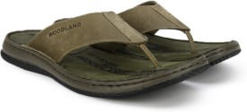 Woodland Leather Slippers