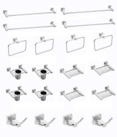 handy stainlees steel bath Stainless Steel Bathroom Set(Pack of 20)