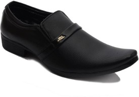 Shoe Icon Slip On(Black)