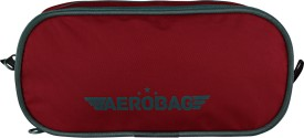Aerobag Multipurpose Pouch(Red, Grey)