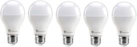 Syska 15W Round E27 1500L LED Bulb (White,Pac..