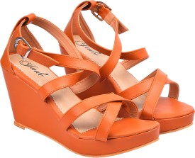 JADE Women Tan Wedges
