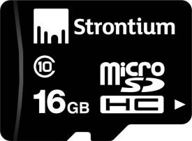 Strontium 16GB MicroSDHC Class 10 (20MB/s)..