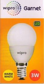 Wipro Garnet 3W Standard E14 270L LED Bulb..