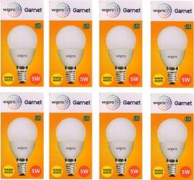Wipro Garnet 5W Standard E14 450L LED Bulb..