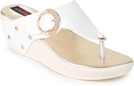 Naisha Women 4,White Wedges