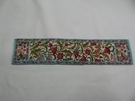 """2/""""x4/"""" #40  Heidi Ott Dollhouse Miniature Rug Woven Rug Floor Carpet"""