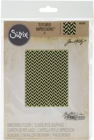 Multicolor Sizzix 662753 Thinlits Die Set with Textured Impressions