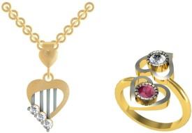 Kanak Alloy Jewel Set(Gold, Silver)