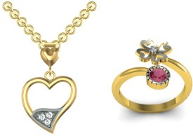 Kanak Brass Jewel Set(Gold, Silver)