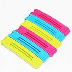 Clothespin Office Paper Files Clips Food Storage Bag Plastic Sealer Clamp CP