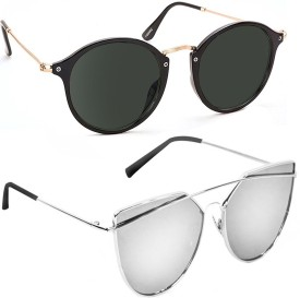 c799bf30b57b Mirrored Sunglasses - Buy Mirrored Sunglasses Online at Best Prices In  India