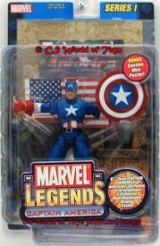 Marvel Legends Series 3 3//4 pouces CAPTAIN AMERICA action figure