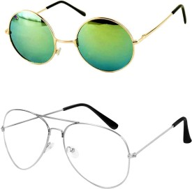 d3c629571c7 Round Sunglasses - Buy Round Sunglasses for Men   Women Online at Best  Prices in India