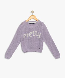 de0ddd3a6 Sweaters For Girls - Buy Girls Sweaters Online At Best Prices In ...