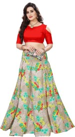 d73614285fd Crop Top with Lehenga - Buy Crop Top Lehengas online at best prices -  Flipkart.