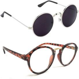 e69cefd9af Transparent Sunglasses - Buy Transparent Sunglasses online at Best Prices  in India