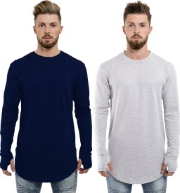Long T Shirt - Buy Long T Shirt online at Best Prices in India ... 20baafe4b54