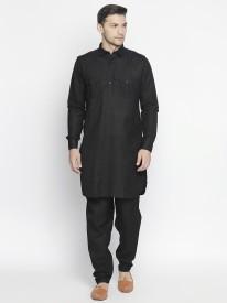 0d9162ba0cc9 Black Kurta Pajama - Buy Black Kurta Pajama online at Best Prices in India